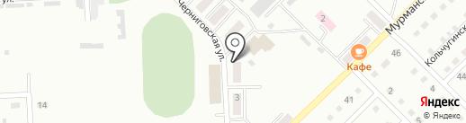 Березка на карте Прокопьевска