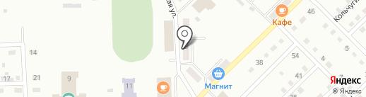 Малина на карте Прокопьевска