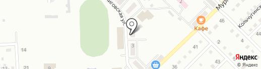 Кузбасский Бройлер на карте Прокопьевска