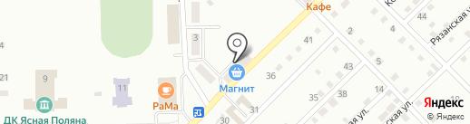 Они-Яни на карте Прокопьевска