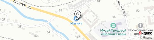 Чибис на карте Прокопьевска