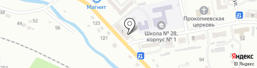 Автопомощь42 на карте Прокопьевска