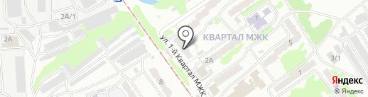 Юг Сервис на карте Прокопьевска