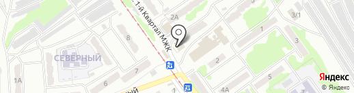 Элит-персонал на карте Прокопьевска