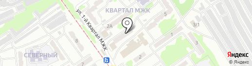 Магазин бытовой химии, косметики и парфюмерии на Оренбургской на карте Прокопьевска