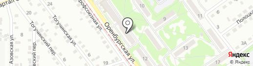 Александрит на карте Прокопьевска
