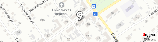 Участковый пункт полиции Прокопьевское на карте Прокопьевска