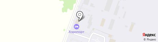 Аэропорт на карте Прокопьевска