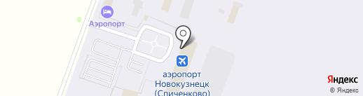 Банкомат, КББ на карте Прокопьевска