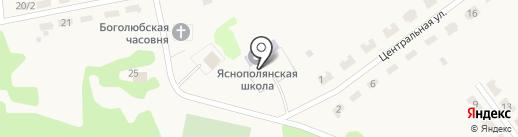 Почтовое отделение на карте Плодопитомника