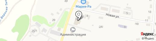 Магазин хозяйственных товаров на карте Терентьевского