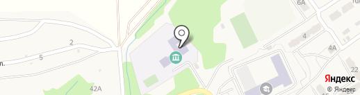 Металлурговская средняя общеобразовательная школа на карте Металлургова