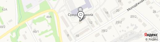Продуктовый магазин на Молодёжной на карте Металлургова