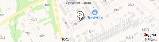 Универсальный магазин на Молодёжной на карте Металлургова