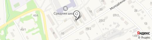 Крюгер на карте Металлургова