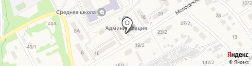 Продовольственный магазин на карте Металлургова