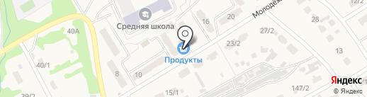 Никитина на карте Металлургова
