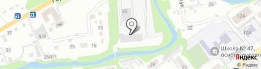СТРОЙ-МЕТ на карте Новокузнецка