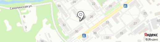 Дальний на карте Новокузнецка