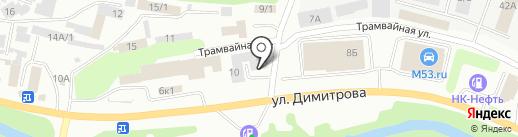 СибШина на карте Новокузнецка