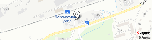 Эталон-Н на карте Новокузнецка