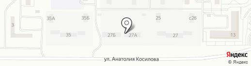 Строящиеся объекты на карте Новокузнецка