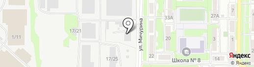 ReFresh-Avto на карте Новокузнецка
