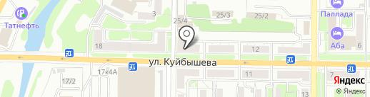 Новокузнецкий межрайонный отдел судебных приставов по исполнению общественно значимых исполнительных производств на карте Новокузнецка