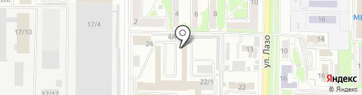 Производственно-торговая компания Система на карте Новокузнецка