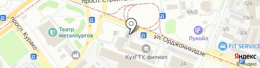Евразия Авто на карте Новокузнецка