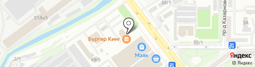 Аниматоры Сибири на карте Новокузнецка