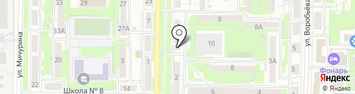 Центр путешествий на карте Новокузнецка