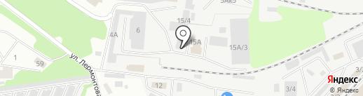 Лесной Торговый Дом на карте Новокузнецка