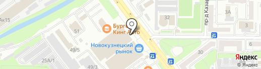 Мебель Черноземья на карте Новокузнецка