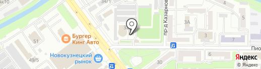 Гурман CLUB на карте Новокузнецка