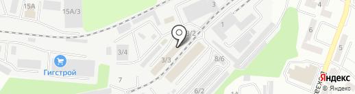 Строганный пиломатериал ТД на карте Новокузнецка