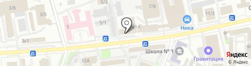 МАРКавто на карте Новокузнецка