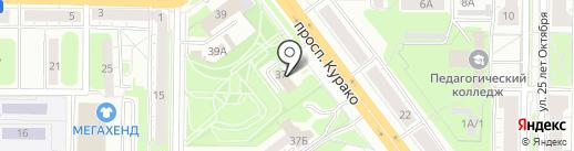 Мои документы на карте Новокузнецка