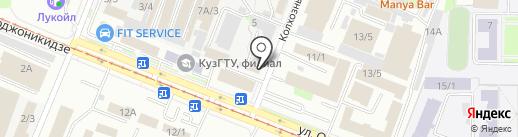 Мельница-НК на карте Новокузнецка