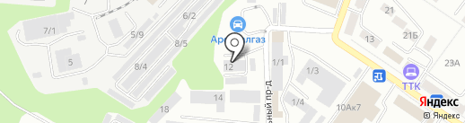 Ника-Н на карте Новокузнецка