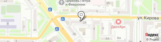 Лесная сказка на карте Новокузнецка