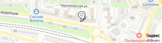 Авто-полка на карте Новокузнецка