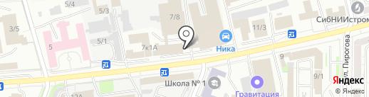 АБРИКОС на карте Новокузнецка