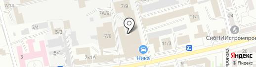 Завод Технологического Оборудования на карте Новокузнецка