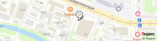 Вишневый Сад на карте Новокузнецка