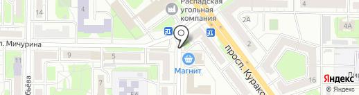 Леди шарм на карте Новокузнецка