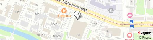 Родная земля на карте Новокузнецка