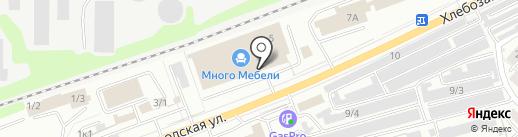 Andrea & bono & Формула дивана на карте Новокузнецка