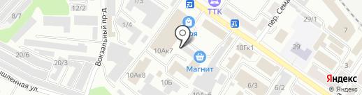 Сиберия Про на карте Новокузнецка