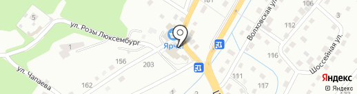 Банька на дровах на карте Новокузнецка